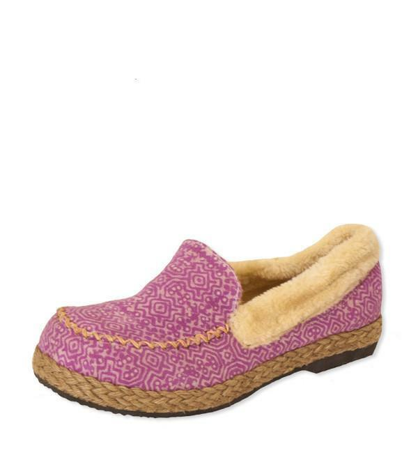 Erin Slipper in Pink Naga by Siamese Dream Handmade in Thailand