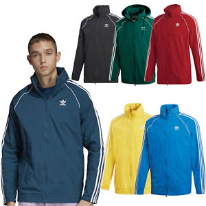 Adidas Originals Superstar Windbreaker Sst Men s Transitional Jacket ... cbd5853828