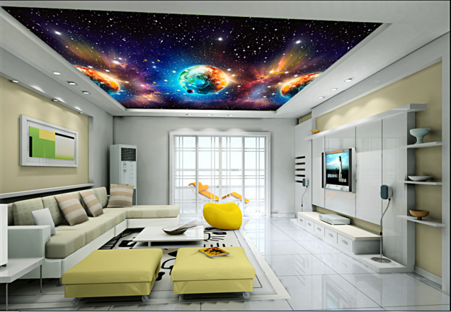 3D Farbiger Planet 76 Fototapeten Wandbild Fototapete BildTapete Familie DE Kyra