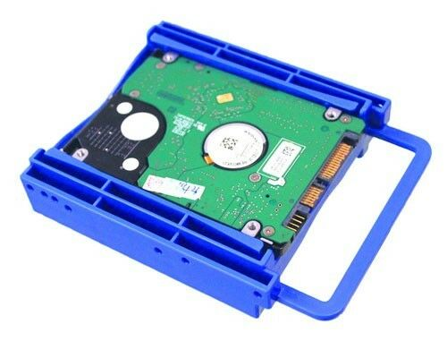 "Bytecc BRACKET-252B 2.5/"" Dual HDD//SSD Screwless Bracket For 3.5/"" Drive Bay"