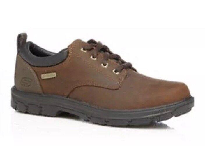 Mens Skechers - braun 'Segment Bertan' Lace Up schuhe Größe UK 12   | Ein Gleichgewicht zwischen Zähigkeit und Härte