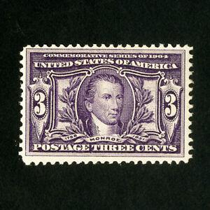 US-Stamps-325-F-VF-Fresh-OG-NH-Scott-Value-170-00