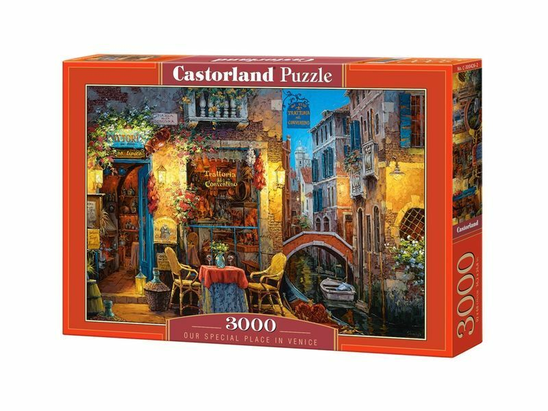 Castorland puzzle 3000 stcke - venedig - 92 x 68cm   36  x27  versiegelte kiste c-300426