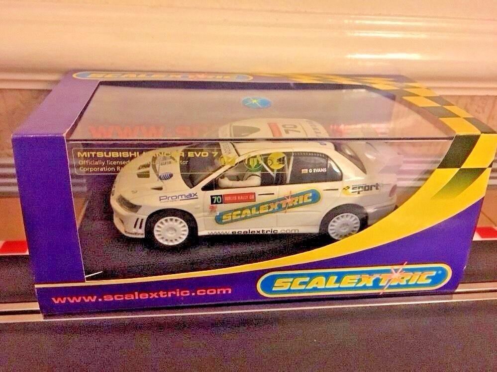 Scalextric Mitsubishi Lancer Evo7 WRC Collectors Club 2005 C2682 New Boxed