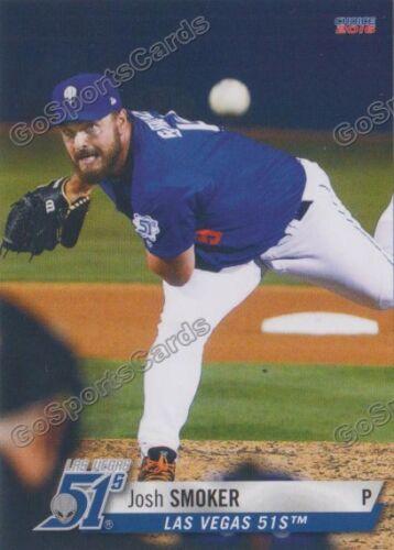 2016 Las Vegas 51s Josh Smoker RC Rookie NY Mets Minor