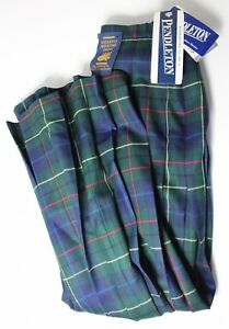 Pendleton-Women-s-8-Signature-Tartan-Plaid-Wool-Skirt-NWT-MSRP-138
