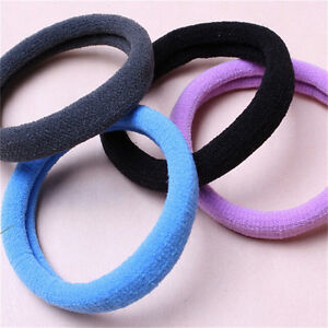 10pcs-Women-Elastic-Hair-Ties-Band-Ropes-Ring-Ponytail-Holder-Accessories-Hf