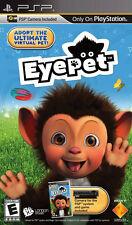 EyePet with Camera PSP New Sony PSP, Sony PSP