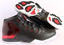 ce5db121571 item 5 NIKE AIR JORDAN 17 + RETRO BLACK-GYM RED-WHITE SZ 15