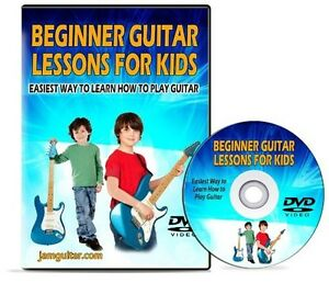 beginner guitar lessons for kids easiest way to learn how to play gutiar dvd ebay. Black Bedroom Furniture Sets. Home Design Ideas