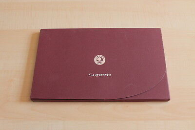 Ehrlichkeit 103133) Skoda Superb - Genf - Pressemappe 03/2008 VerrüCkter Preis