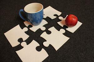 Felt-Coasters-Home-Decor-set-of-6-Puzzle-Design-Laser-Cut
