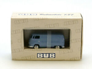 BUB-06500-Volkswagen-VW-T1-Bulli-Kasten-Transporter-hellblau-OVP-1304-04-79