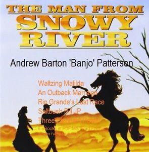CD - The Man From Snowy River Banjo Patterson - Plus Bonus Books