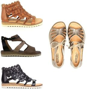 2187c4842bf Pikolinos Women s W1L Alcudia Leather Sandals Comfort Summer Shoes ...