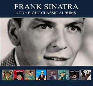 Frank-Sinatra-8-Klassische-Alben-4-CD-NEU