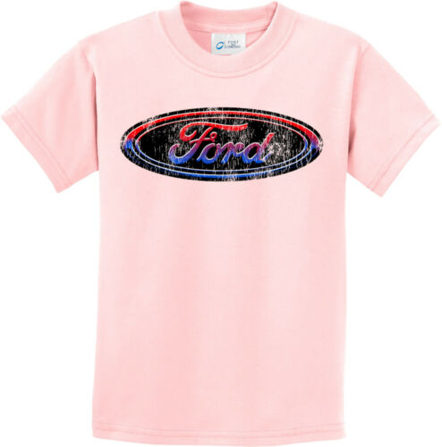Kids Ford Oval T-shirt Distressed Logo