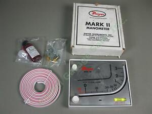 Dwyer-Series-Mark-II-Model-25-Molded-Plastic-Manometer-Inclined-Verticle-Scale