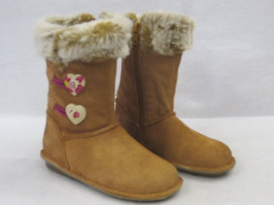 Kids' Clothing, Shoes & Accs Sale Clarks Infant Girls Winter Boots 'snuggle Folk' Tan Suede