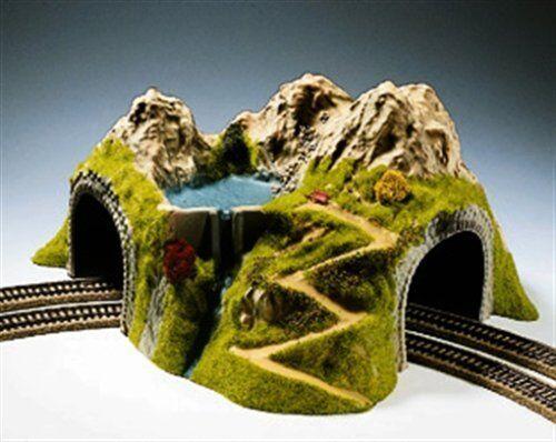 Noch 05180 43 X 41 cm túnel de doble vía en curva modelado de paisaje