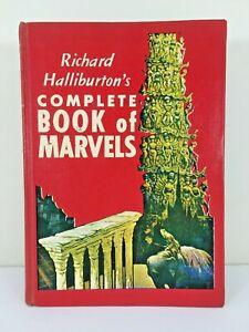 Vintage-60s-Richard-Halliburton-039-s-Complete-Book-of-Marvels-Hardcover-Blytheville