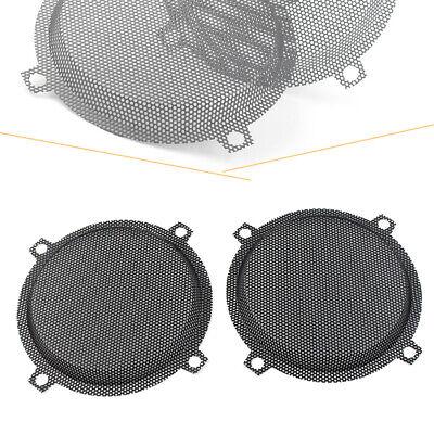 XMMT Black Punched Steel Mesh Speaker Grills for Harley Davidson Touring Electra Street Glide FLHT 1996-2013