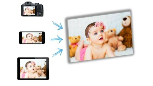 TOP QUALITY !!! MANY FRAMES  ! YOUR PICTURE PERSONALISED ON TO CANVAS BOX !