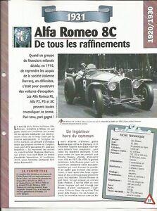FICHE AUTOMOBILE - ALFA ROMEO 8C 1931 W8ydbkqz-09153526-154294715