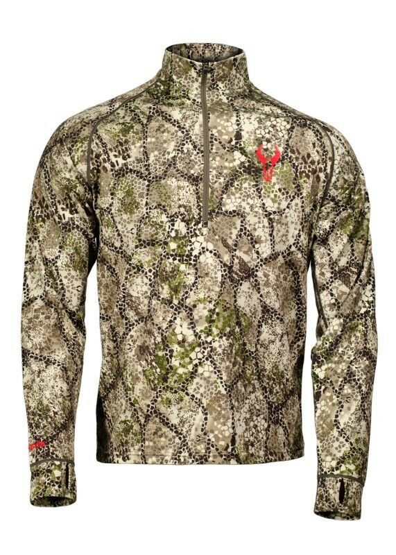 Badlands Calor Midweight Long Sleeve 1 4 Zip Shirt