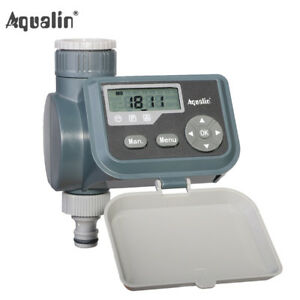 Lcd Solenoid Valve Watering Timer Irrigation Controller