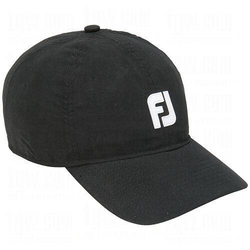 Buy Men s FootJoy Golf DryJoys Waterproof Baseball Hat Color Black Size  OSFA online  d085babec66
