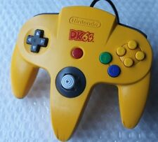 *TIGHT STICK* Donkey Kong DK64 Controller Yellow Banana Super Rare Nintendo 64