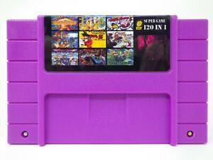 120-in-1-SNES-Super-Nintendo-Multi-Cart-Game-Zelda-Mario-Earthbound-EVO-Chrono