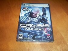 CRYSIS WARHEAD Crisis Ctytek Stealth Shooter PC Game GAMES FOR WINDOWS EA NEW