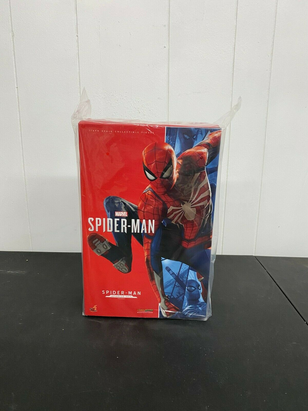 Marvel Hot Toys Spiderman Advanced Suit 1/6 Avengers Infinity War No Reserve! on eBay thumbnail