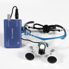 35x420 Dental Surgical Binocular Loupe Magnifying Glasses Led Light Lamp Wsc