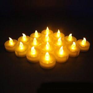 led flameless tealights battery flickering tea light candles remote. Black Bedroom Furniture Sets. Home Design Ideas