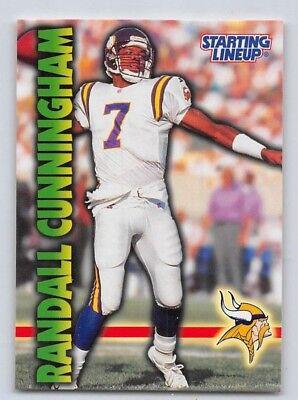 MINNESOTA VIKINGS Kenner Starting Lineup Card 1999  RANDALL CUNNINGHAM