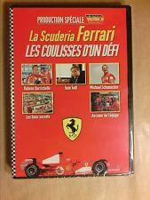 DVD RARE / LA SCUDERIA FERRARI LES COULISSES D'UN DEFI / NEUF SOUS CELLO