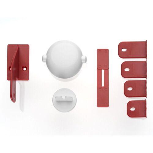 Reer Schrankschloss für Doppeltüren Neu /& OVP