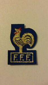 French-soccer-voetbal-F-F-F-France-Football-logo-patch-Vintage-emblem