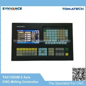 Image Is Loading Tomatech 5 Axis Cnc Controller For Milling Machine