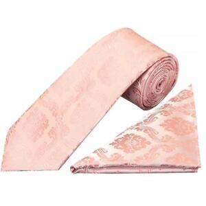 Herren-accessoires Humorvoll Rose Gold Paisley Classic Men's Tie And Pocket Square Set Regular Tie Normal Tie Grade Produkte Nach QualitäT Krawatten & Fliegen
