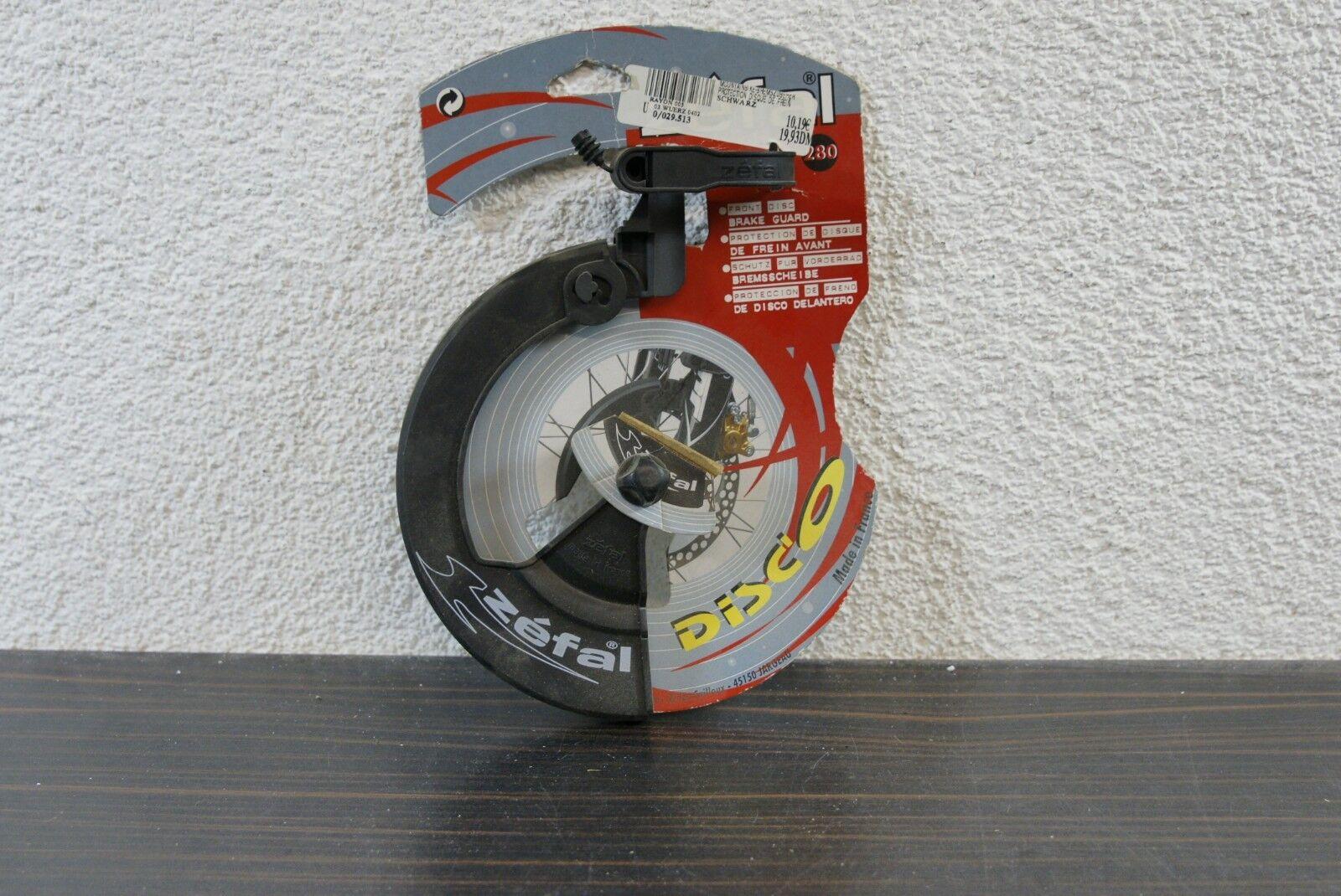Zéfal Disc'O Schutz für 160mm Bremsscheibe am Vorderrad Retro Kult NEU NOS