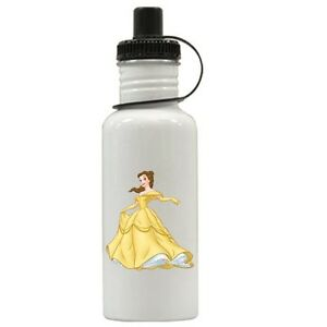 Personalized Princess Belle Water Bottle Gift Add Name