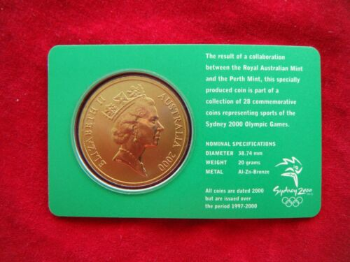 $5 UNC RAM Coin CYCLING 25//28 Sydney 2000 Olympic Coin Collection