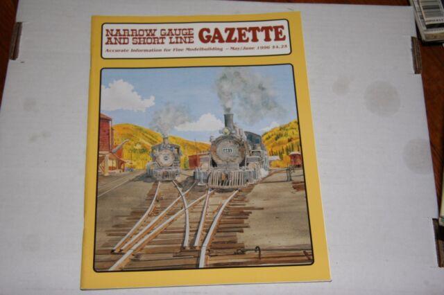 NARROW GAUGE & SHORTLINE GAZETTE ISSUE 5/6 1996