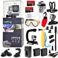 Gopro Hero4 Hero 4 Black Edition + 128gb + Diving Mask + X-grip + Deluxe Bundle