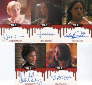 True-Blood-Season-6-Autograph-Card-Lot-5-Cards