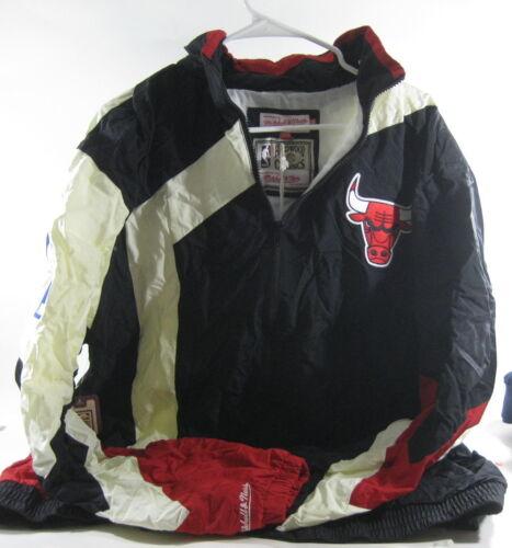 Mitchell /& Ness hardwood classics Jacket Windbreaker 6027a bulls Size 3XL  ***